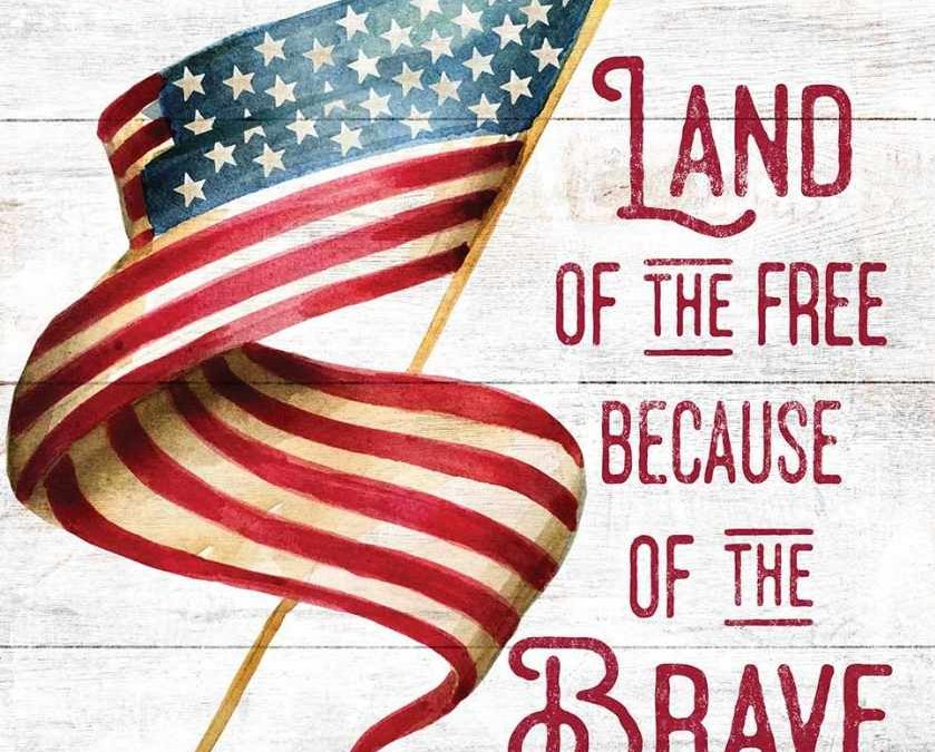 Land of the Free, Because of the Brave